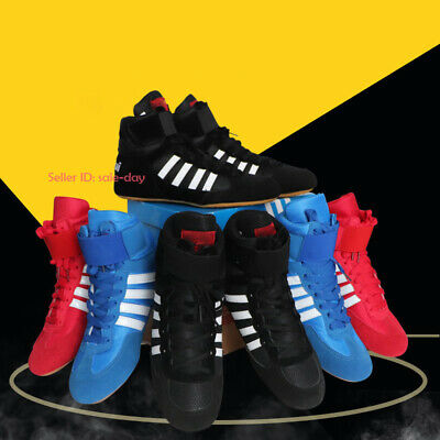 PIMD Red X-Core V2 Gym Shoes Training High Top Boots Bodybuilding MMA Boxing