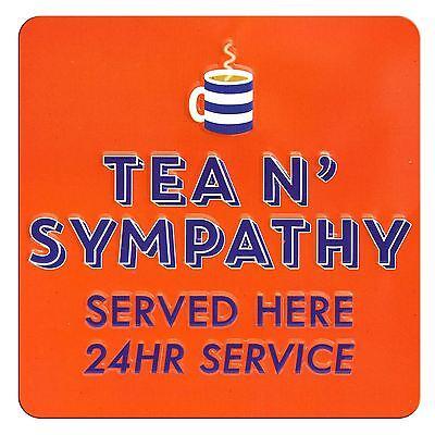 TIN MAGNET TEA N/' SYMPATHY SERVED HERE