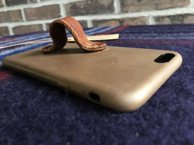 more photos 58b98 657cb Apple Brown Leather Case iPhone 6 6s Plus