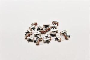 20Pcs-SS12D00G3-2-Position-SPDT-1P2T-3-Pin-PCB-Panel-Vertical-Slide-Switch-O