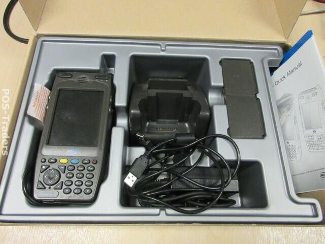 "M3 MC-7500S PDA Scanner 3.5"" Touch Screen POS Bluetooth WiFi INCL PSU + CRADLE"
