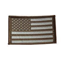 Fashion 2PCS Black Grey United States US Shoulder Flag Embroidered ec