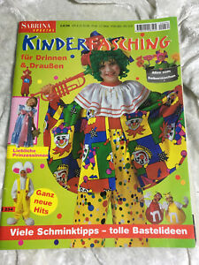 Sabrina Kinder Fasching S 234 Kostume Karnevall Schnittmuster
