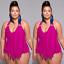 Plus-Size-Women-One-piece-Swimwear-Monokini-Beach-Swimsuit-Bikinis-Bathing-Suit thumbnail 19