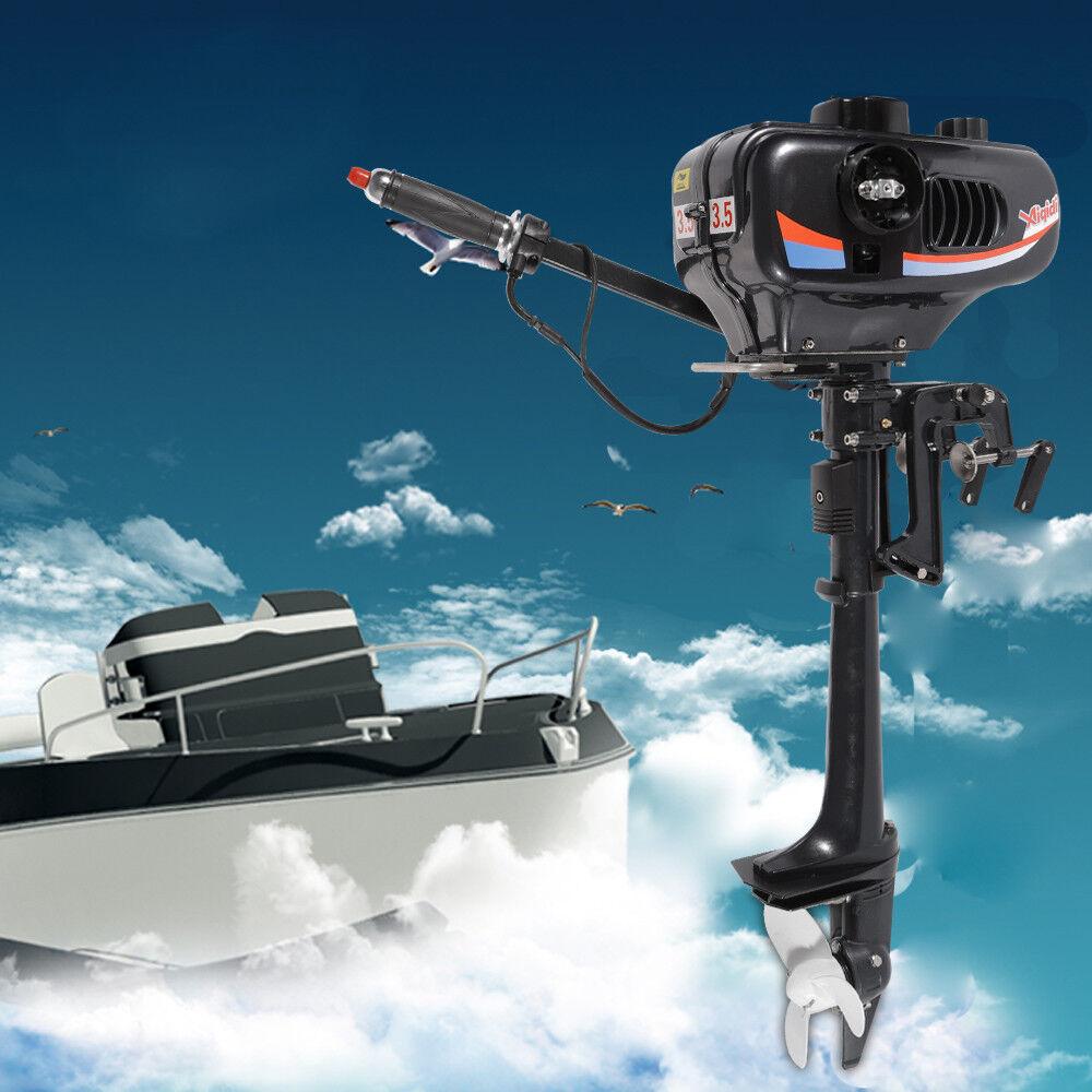 2 temps 3.5 CV Moteur horsbord Moteur de bateau Outtavola Motor Water Cooling