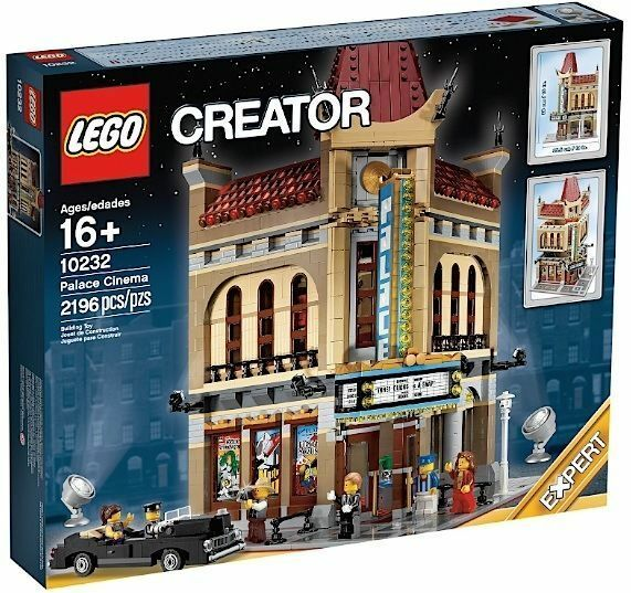 Années et bagues brillantes LEGO LEGO LEGO COLLEZIONISTI CREATOR MODULARI 10232 PALACE CINEMA NUOVO 31e74d