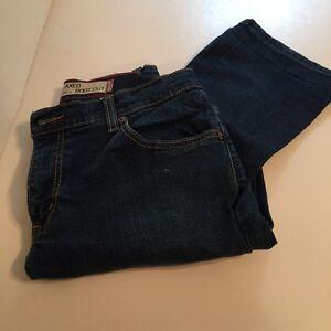 donna blu Jeans 6 a scuro denim taglio Sz stivale Gap elasticizzato w0Bq6P
