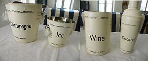 Ensemble-art-de-la-table-seau-a-champagne-glace-rafraichisseur-brique-vin-shaker