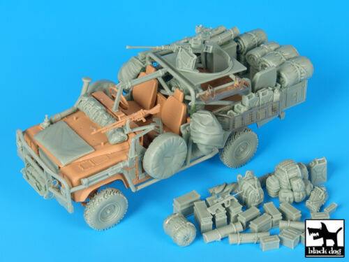 Black Dog 1//35 Australian Special Forces Land Rover Accessories Big Set