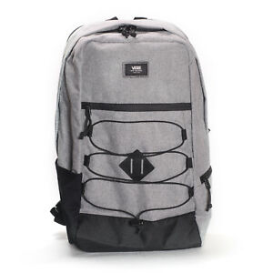 bc68c195a55a VANS Snag Plus Backpack School Book Bag Heather Suiting Grey Travel Gym 25l
