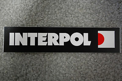 12/'/' or 14/'/' Interpol Love Car Bumper Sticker Decal 9/'/'