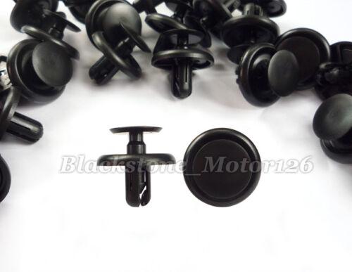 20 Pcs Dashboard Inner Panel Retainer Nylon Clip Trim Fastener For Toyota Hiace