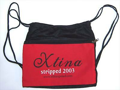 Christina Aguilera Stripped 2003 Mesh Back Pack Bag New Official Free Shipping