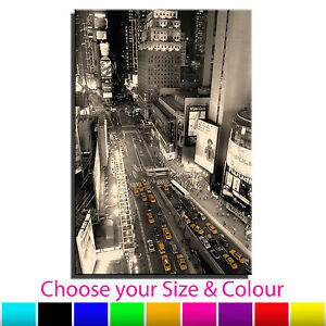 New York Taxi Single Canvas Wall Art Picture Print 25 - <span itemprop=availableAtOrFrom>Notitngham, United Kingdom</span> - All returns to be sent to the address below in original condition with invoice for refund identification. Canvas Culture 143 Kirkby Road Sutton In Ashfield Mansfield Nottinghamshire NG - Notitngham, United Kingdom