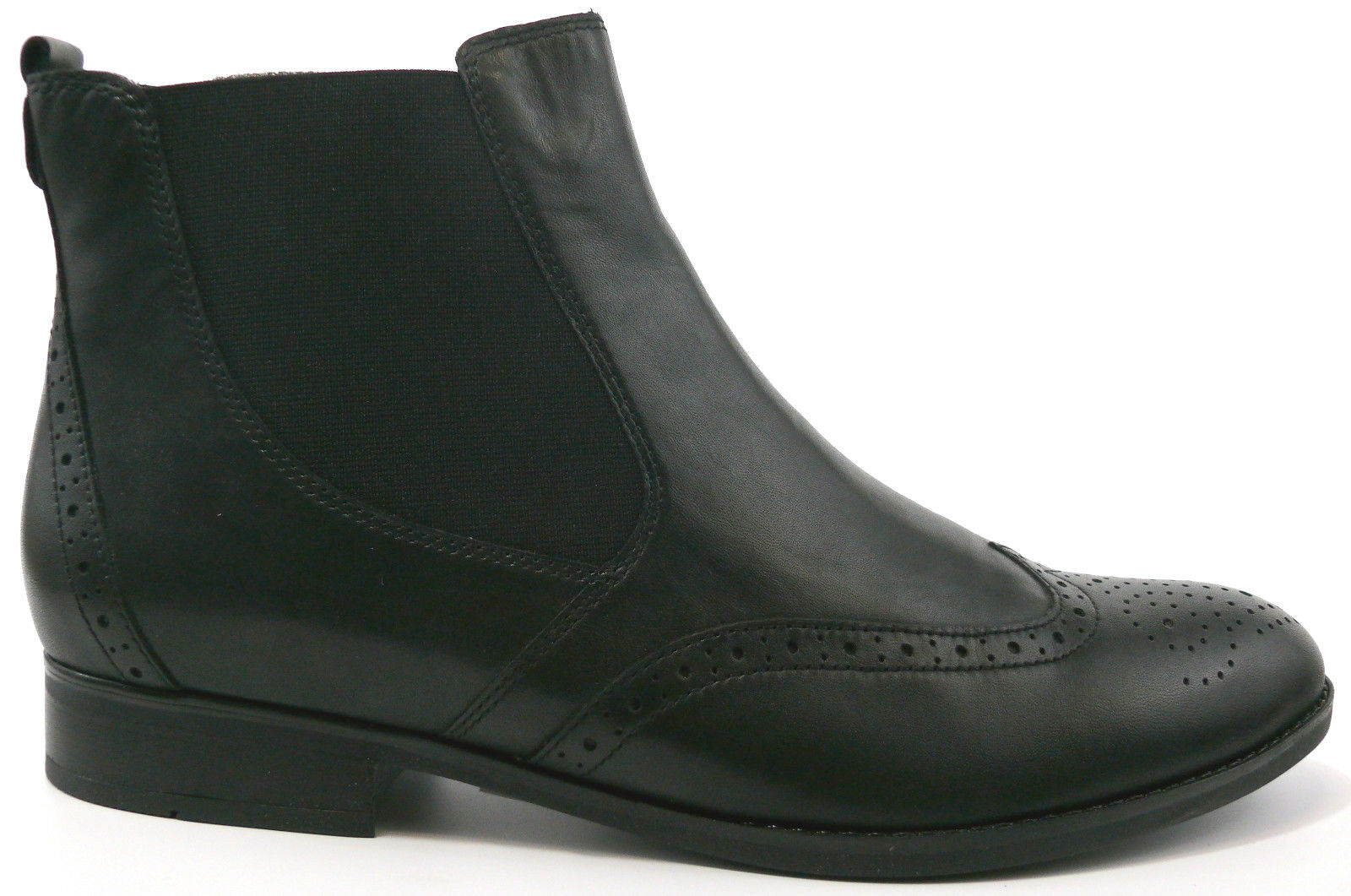 Chelsea GABOR Stiefel Schwarz NEU Damen 8 UK Stretch Schuh