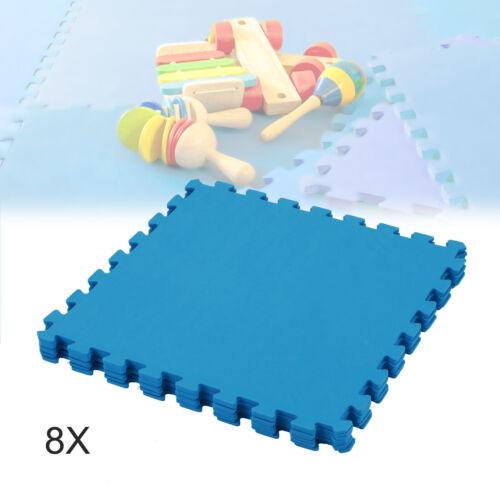 8stk  Puzzlematte Spielteppich Kinderteppich Kinder Spielmatte Schaumstoffmatte