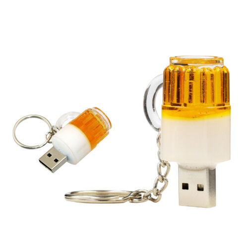 Memory stick USB Flash Drive 16GB Beer glass Pen Drive 16GB FREE shiping