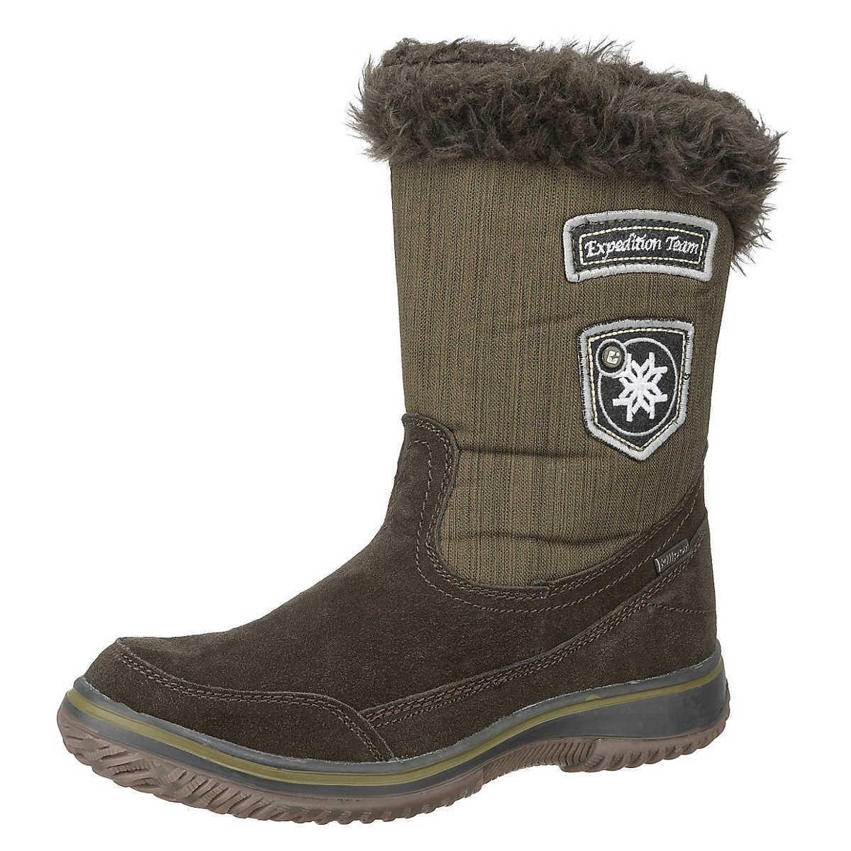 Killtec Chana melange zapatos señora botas de invierno botas, Boots, marrón,! nuevo!