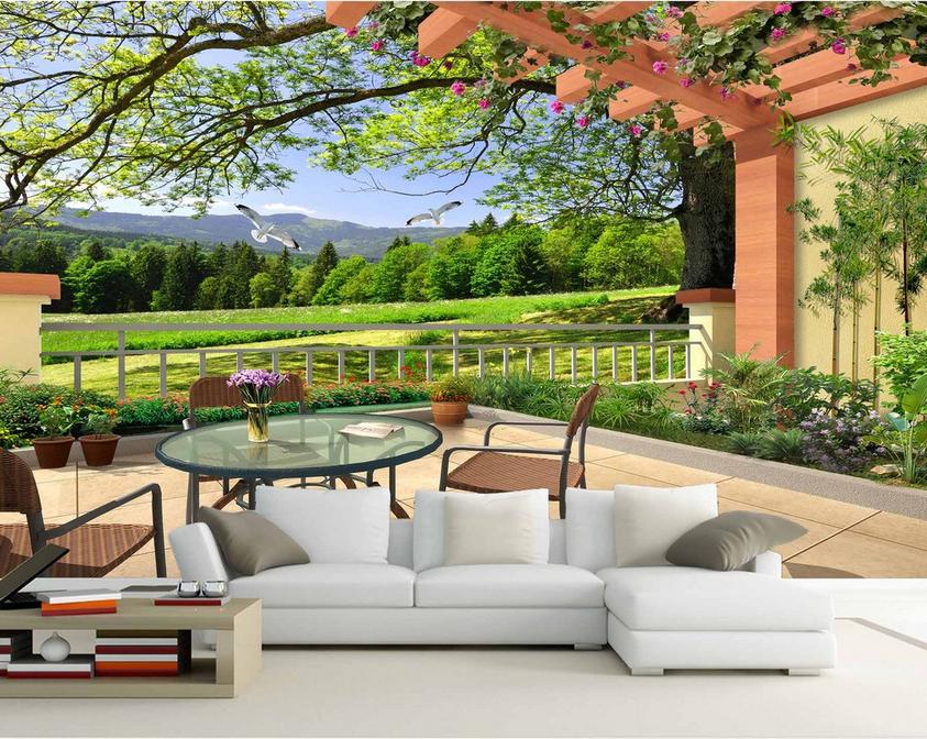 3D 3D 3D Landschaft Balkon 81 Tapete Wandgemälde Tapete Tapeten Bild Familie DE Summer 1b52c2