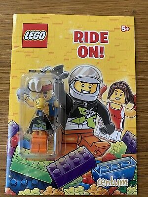 Brand New Lego Time To Play Activity Book With Minifigure Tlm112