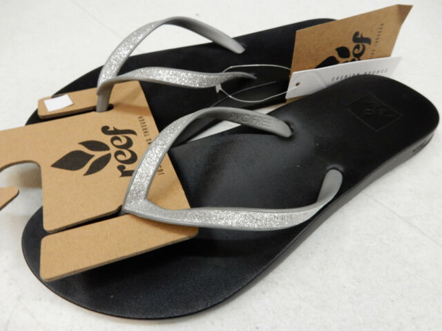 b8f178c4499c Reef Womens Sandals Cushion Bounce Stargazer Silver Size 9 for sale ...