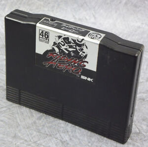 RIDING-HERO-Cartridge-Ref-0620-NEO-GEO-AES-Neogeo-SNK-JAPAN-Game
