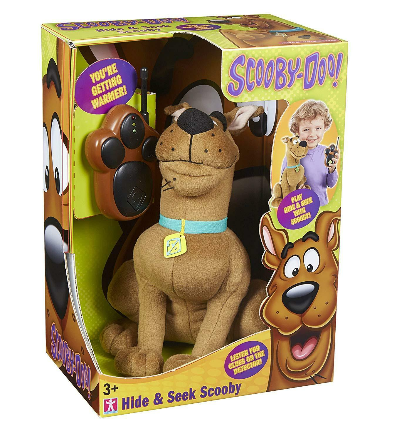 BRAND NEW BOXED TALKING REMOTE CONTROL 27INCH HIDE AND SEEK SCOOBY-DOO BUDDY
