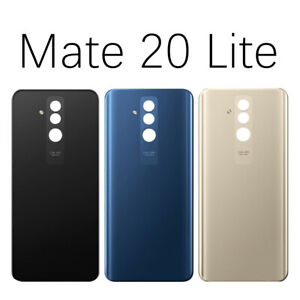 For-Huawei-Mate-20-Lite-Rear-Back-Glass-Battery-Cover-Case-Housing-Replacement