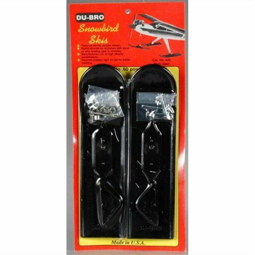 Dubro Du-bro RC Remote Control Airplane .20-.60 Size Main Snow Skis 825 DUB825