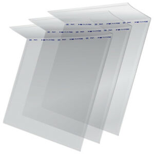 100-Resealable-Flap-Outer-Sleeves-45-RPM-7-034-Vinyl-Record-Covers-Clear-Plastic