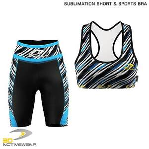 Women-039-s-Compression-Shorts-Ladies-Short-Base-Layer-Sports-Bra-Yoga-Tops-Vest