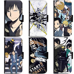 PIN-1-Anime-Durarara-Phone-Wallet-Flip-Case-Cover-for-LG-Motorola