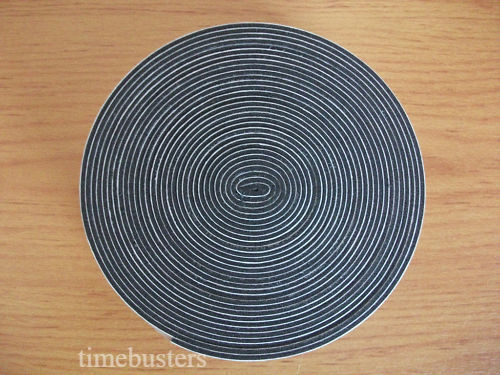 5m Black Single Sided Foam Tape Closed Cell 20mm Wide x 1.5mm Thick