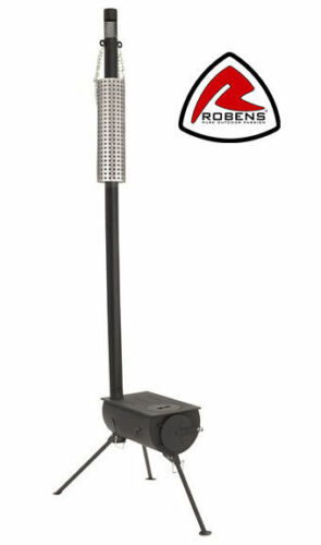 Robens Denali Tenda FORNO LEGNO FORNO FORNO piccola dimensione del pacco 26x45x21 cm 13,7kg AB kw10
