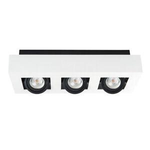 Del 3 Spot Shop Display Plafond Lumière Surface Mounted Spotlight Downlight Lumière-afficher Le Titre D'origine