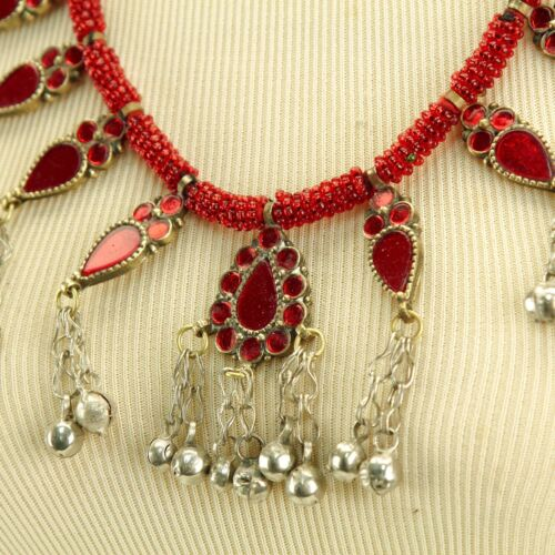 Pastunistan Afghanistan Kabul Shiney NECKLACE Tribal 810a8
