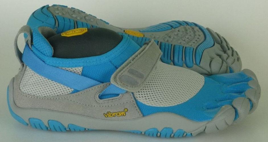 Vibram Five Fingers TrekSport shoes Women's US 6 - 6.5   bluee   Gry (T22)