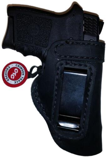 LT BLACK CUSTOM IWB Leather Holster YOUR CHOICE:rh,lh-laser-slide-cant-belt-mag+