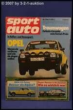 Sport Auto 5/76 Chevy Corvette BMW 320i Alfetta 1800