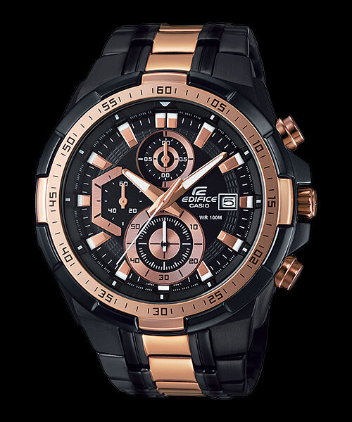 Efr-539bkg-1a Rose Gold Casio Edifice Men s Watches Model 100m Steel Band  for sale online  ff2726a7f994
