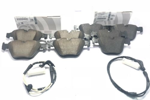 BMW Front /& Rear Brake Pad Sets+Sensors 228i 320i 328i 330i 428i X3 X4 Genuine