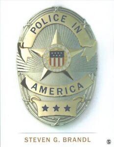 Police-in-America-Paperback-by-Brandl-Steven-G-Brand-New-Free-shipping-i