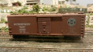 Athearn-BB-Southern-Pacific-T-amp-NO-DS-Wood-40-039-Boxcar-Upgraded-Exc