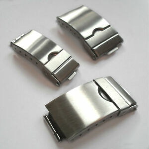 Image Is Loading Watch Bracelet Catch Clasp Stainless Steel Replacement 3