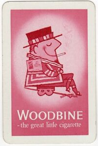 Playing Cards 1 Swap Card Vintage WILD WOODBINE Cigarettes Lord Mayor SMOKING 2 - Bristol, United Kingdom - Playing Cards 1 Swap Card Vintage WILD WOODBINE Cigarettes Lord Mayor SMOKING 2 - Bristol, United Kingdom