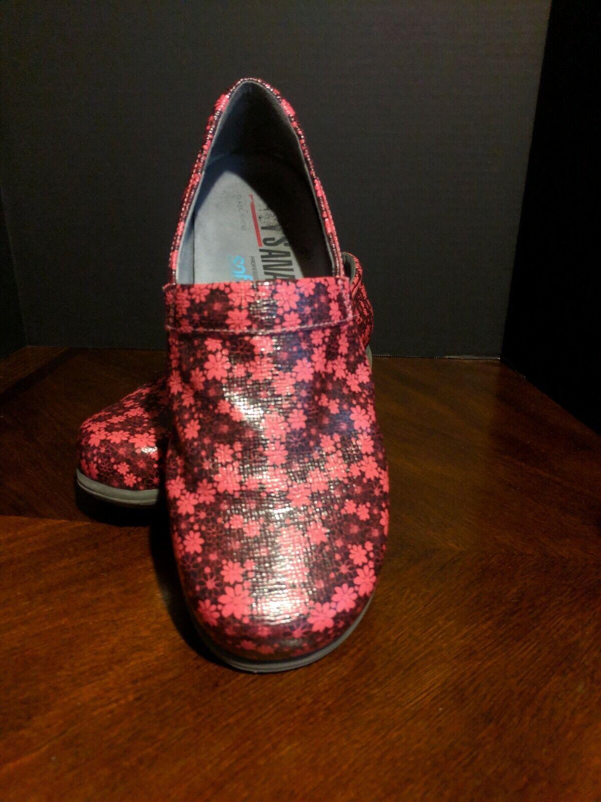 Softwalk Meredith Grey's Anatomy Womens Size 10 Professional Clog Nurse Shoes