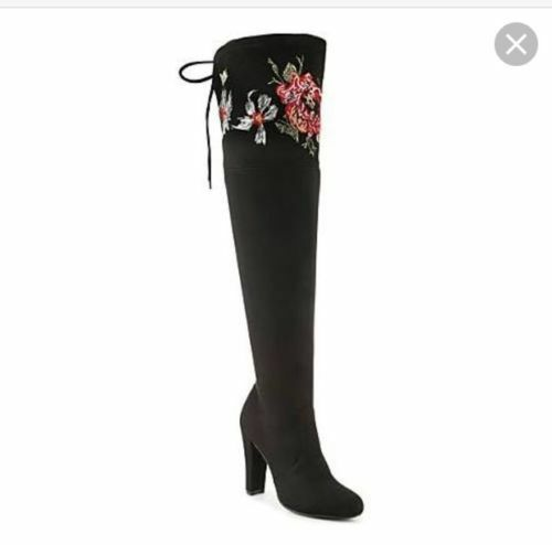 Zigi Soho Bryna Over The Knee Boots Size 8.5 new