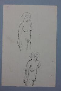Aktstudien-Federzeichnung-1920er-Jahre-Nachlass-Anton-Kist