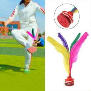 Colorful-Feather-Chinese-Jianzi-Fitness-Sports-Toy-Game-Foot-Kicking-Shuttlecock