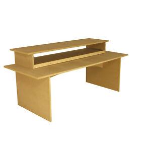 studio composer workstation desk suit big 88 key piano 39 s keyboards c1 ebay. Black Bedroom Furniture Sets. Home Design Ideas